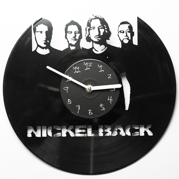 Vinyl Clock - Nickelback