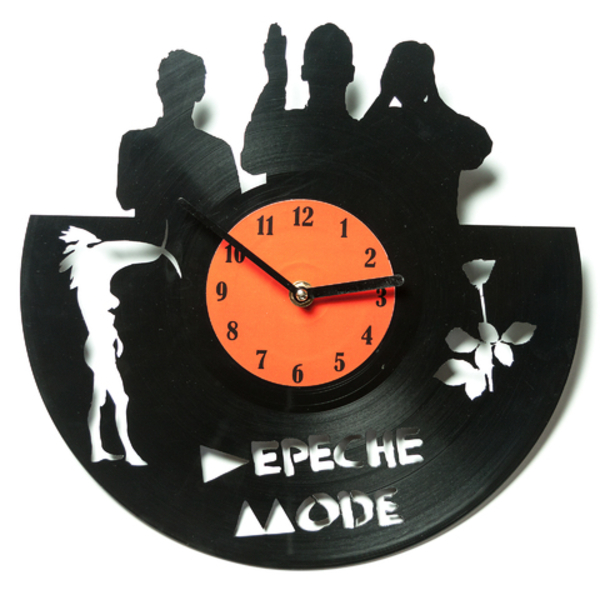 Vinyl Clock - Depeche Mode