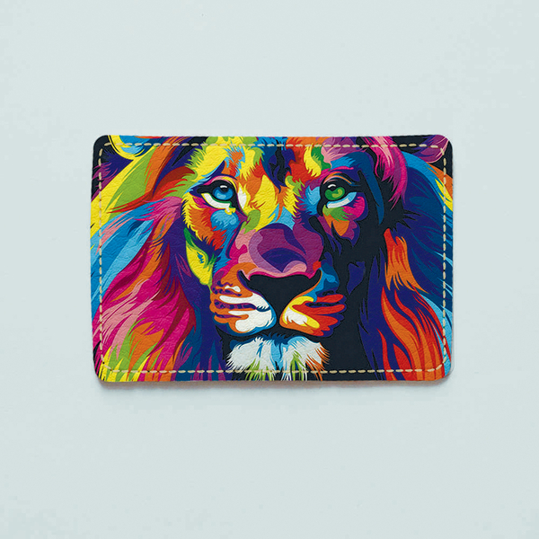 "ID card cover ""Lion"""