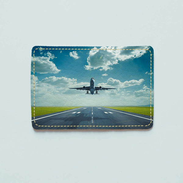 "ID card cover ""Plane"""