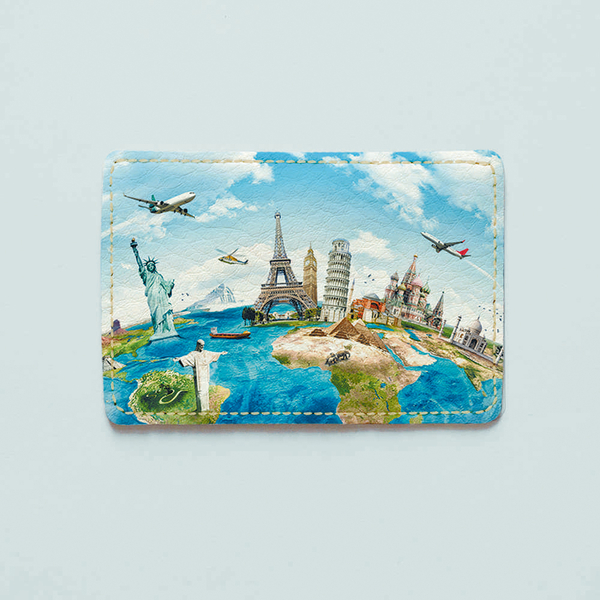 "ID card cover ""Travel"""