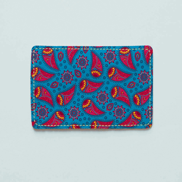 "ID card cover ""Paisley ornament"""