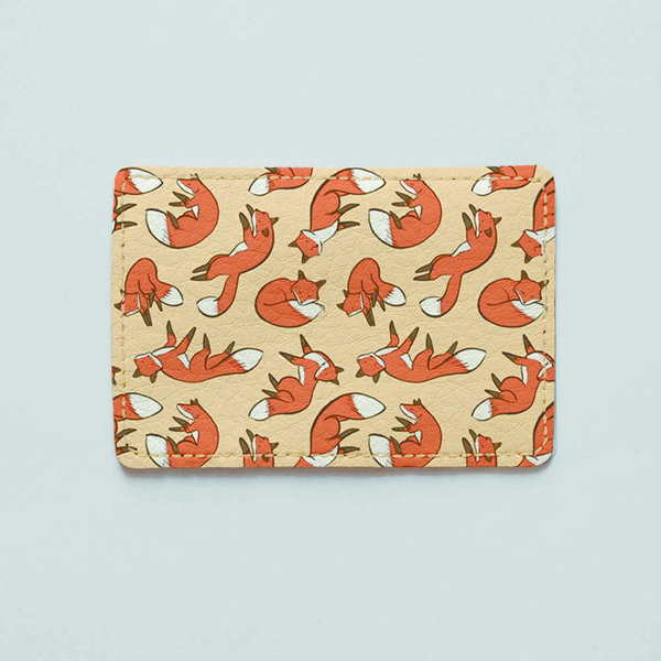 """ID card cover """"Foxies"""""""