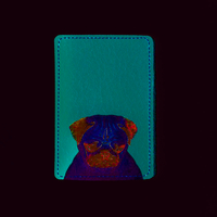 "ID card cover ""Pug"""