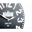 "Wooden clock ""Manhattan"""