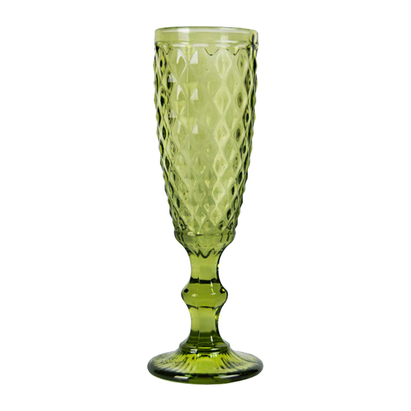 "Glass ""Verona"", emerald"