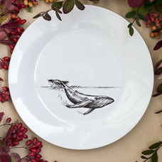 "Plate ""Whale"""