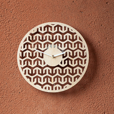 "Wooden clock ""Pattern"""