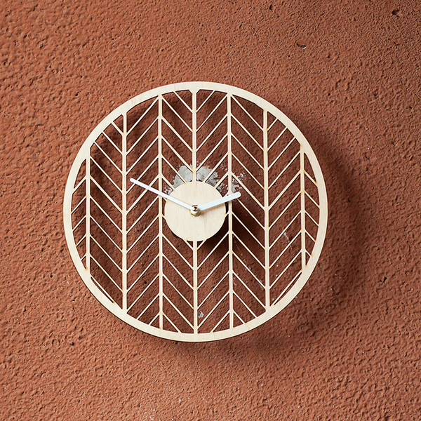 "Wooden clock ""Forest"""