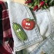 "Badge ""Cucumber"""