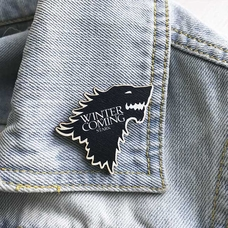 "Badge ""Winter is coming"""