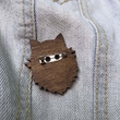 """Badge """"Mother of Cats"""""""