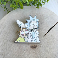 "Badge ""Rick and Morty"""