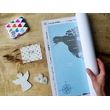 """World Scratch Map """"Discovery Map"""", Flags Edition"""