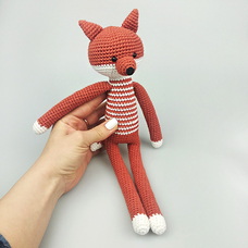"Yarn toy ""Red Fox"""