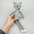 "Yarn toy ""Gray Wolf"""