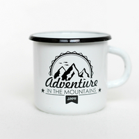 "Enamel mug  ""Adventure"""