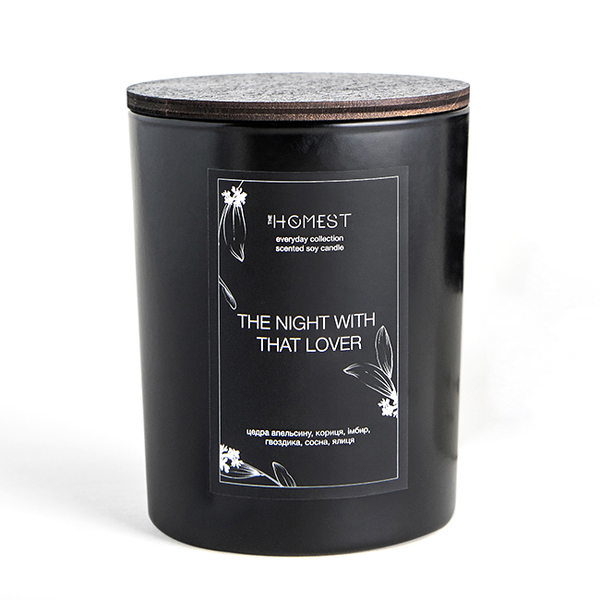 """Soy candle """"The Night With Lover"""""""