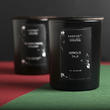 """Soy candle """"Serious Talk"""""""