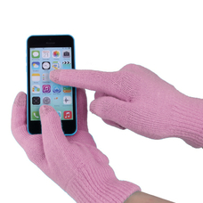 "Touch gloves for smartphones ""iGlove"", pink"