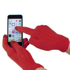 "Touch gloves for smartphones ""iGlove"", red"