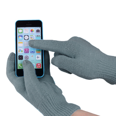 "Touch gloves for smartphones ""iGlove"", gray"