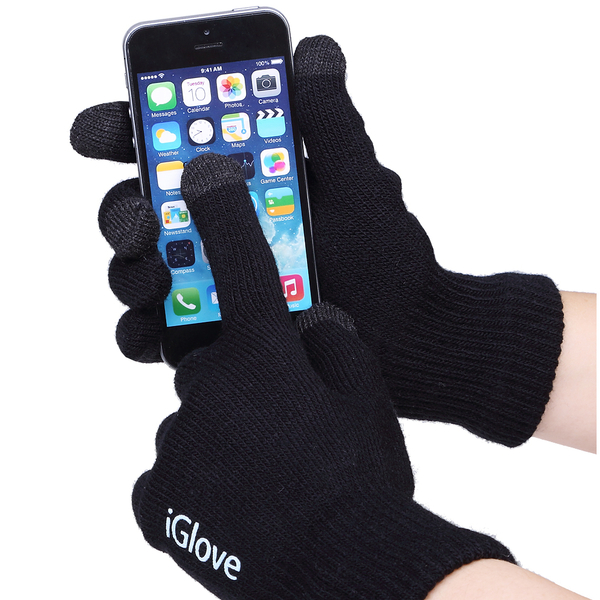 """Touch gloves for smartphones """"iGlove"""", black"""