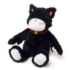 "Heatable stuffed toy ""Blackie Cat"""