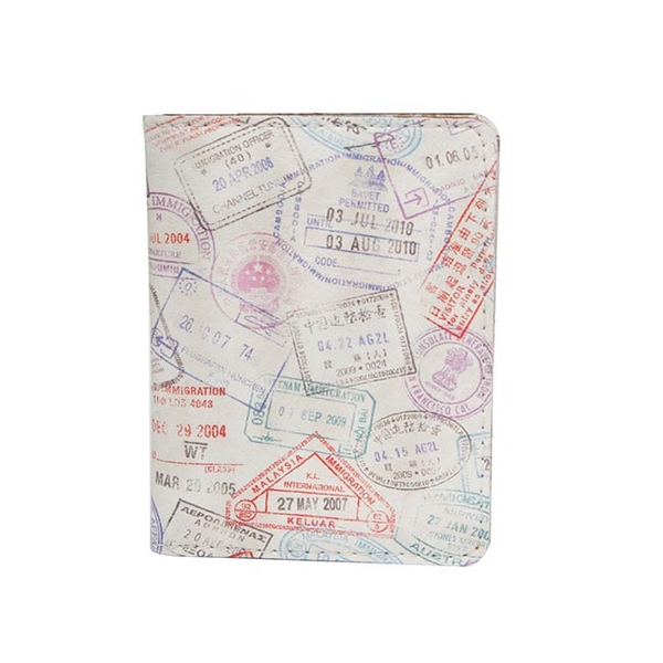 "ID card cover ""Stamps"""