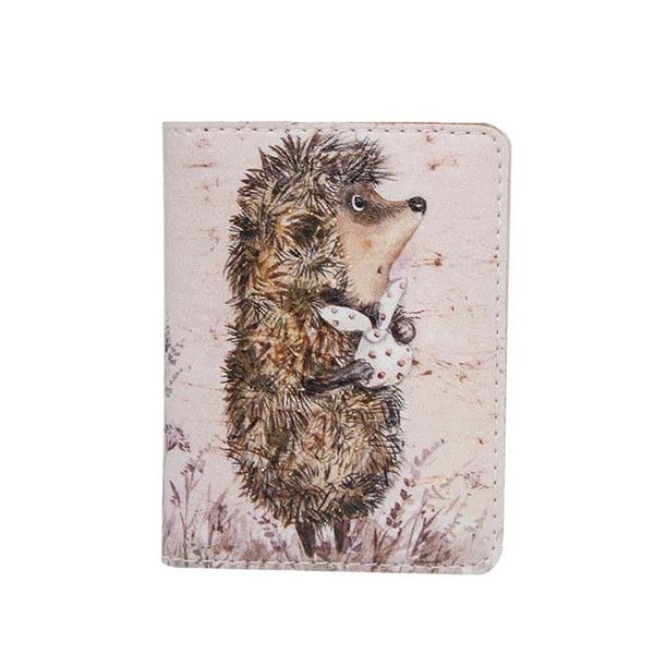 "ID card cover ""Hedgehog in a fog"""