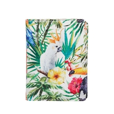 "ID card cover ""Tropical birds"""
