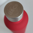 Thermo Bottle Summit B&Co Geo Bottle Flask Red