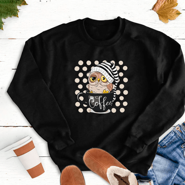 "Sweatshirt ""Sweet morning"""