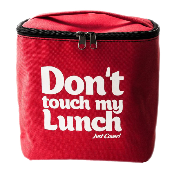 "Thermo lunch bag ""Don't touch"" Red"