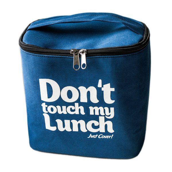 """Thermo lunch bag """"Don't touch"""" Blue"""
