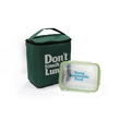 """Thermo lunch bag """"Don't touch"""" Green"""