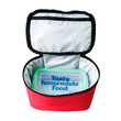 "Thermo lunch bag ""Don't touch"" mini, red"