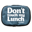 """Thermo lunch bag """"Don't touch"""" mini, grey"""