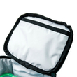 """Thermo lunch bag """"Don't touch"""" mini, blue"""