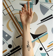 "Set of temporary tattoos ""Rhombus"""