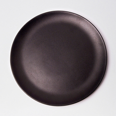 "Plate ""Just black"""