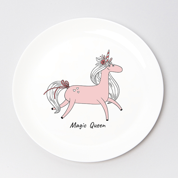 "Plate ""Magic Queen"""