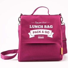 """Thermo lunch bag """"Lunch Bag (Size L+)"""", berry"""