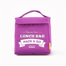 "Thermo lunch bag ""Lunch Bag (Size M)"", violet"