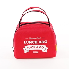 "Thermo lunch bag ""Lunch Bag (Zip)"", red"