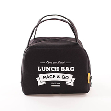 "Thermo lunch bag ""Lunch Bag (Zip)"", black"