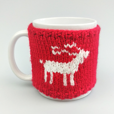 "Mug in a sweater ""Deer"""