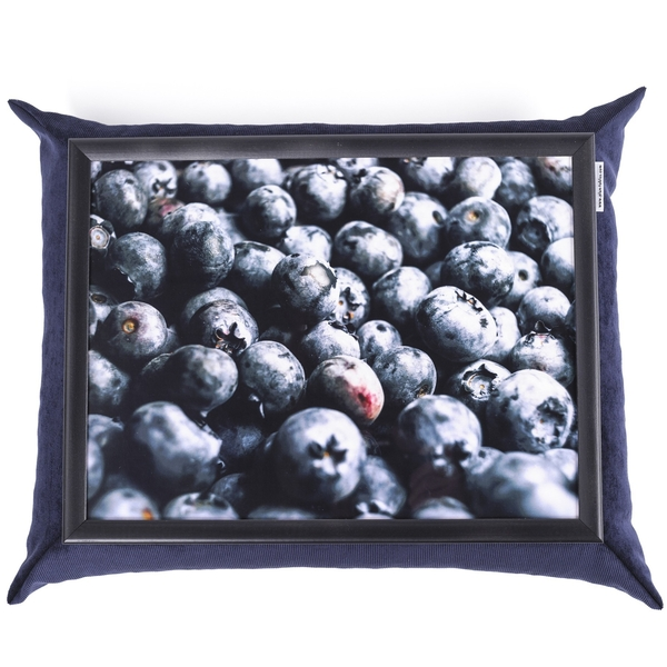 """Tray with a pillow """"Blueberry"""""""