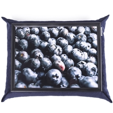 "Tray with a pillow ""Blueberry"""