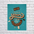 """Poster """"Control your life"""""""